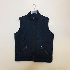 Carhartt Vest. Navy Blue. Size Large.
